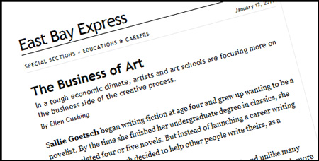 The Business of Art, by Ellen Cushing